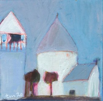 Tone_Myging_akryl_paa_laerred-canvas_20x20cm_Nykker_kirke_church_small.jpg