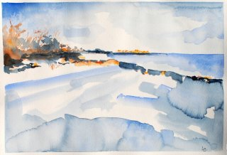 Lene-Bregninge-vinterbilled-winter-akvarel-watercolour-Svaneke-2015_small.jpg