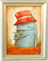 Green Thumbed Godfrey - Art Box Framed Zozoville - Mateo Dineen.jpg
