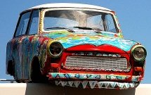 The Trabant on the Roof / Art Box Bornholm.jpg