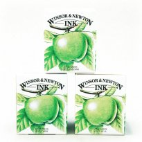 Windsor Newton tegnetusch Ink Apple green.jpg