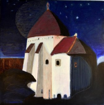 Toe_Mygind-Starry_Starry_Night-nat-rundkirke-akryl-laerred-100x100-2020_small.JPG